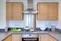 Cozinha contemporânea Fotografia de Stock Royalty Free