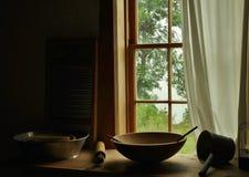 A cozinha da avó Foto de Stock Royalty Free