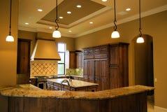 Cozinha de Desiger Foto de Stock