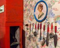 Cozinha de Dolly House, Ketchikan Foto de Stock Royalty Free