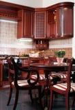 Cozinha de madeira Imagem de Stock Royalty Free