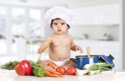 Cozinha do bebê fotografia de stock