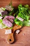 Cozinha do café da manhã Imagens de Stock