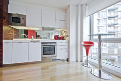 Cozinha do estúdio Foto de Stock Royalty Free