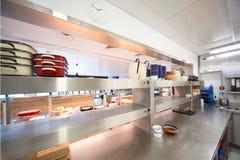 Cozinha do hospital Imagens de Stock