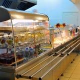 Cozinha do hotel foto de stock royalty free