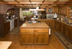 Cozinha do país Fotografia de Stock Royalty Free