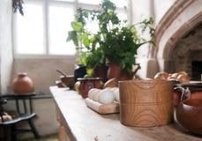 Cozinha do país velho Fotos de Stock Royalty Free