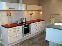 Cozinha do projeto moderno Imagem de Stock Royalty Free
