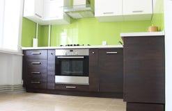 Cozinha doméstica Fotografia de Stock Royalty Free
