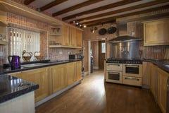 Cozinha doméstica Foto de Stock Royalty Free