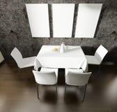 Cozinha doméstica moderna Fotografia de Stock Royalty Free