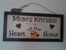 Cozinha dos Mums Imagens de Stock