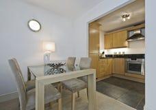 Cozinha e comensal Foto de Stock