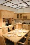 Cozinha e telhado Fotografia de Stock