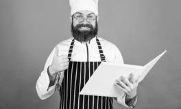 Cozinha em minha mente r Receitas do livro i m culinary foto de stock royalty free