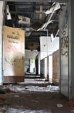 Cozinha em um restaurante abandonado Fotografia de Stock