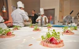 Cozinha estrelado Imagens de Stock