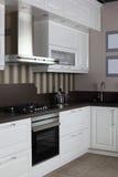 Cozinha européia brandnew brilhante Imagens de Stock Royalty Free