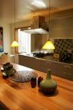 Cozinha extravagante Foto de Stock Royalty Free