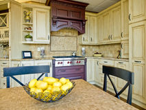 Cozinha feita sob encomenda Fotografia de Stock