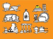 Cozinha Home Fotografia de Stock