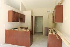 Cozinha inacabado Fotos de Stock Royalty Free