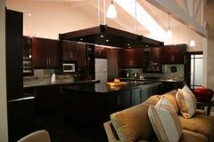 Cozinha interior africana moderna Imagem de Stock