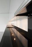 Cozinha interior, doméstica Fotografia de Stock Royalty Free