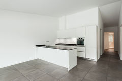 Cozinha interior, doméstica Foto de Stock Royalty Free