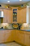 Cozinha interior nova Foto de Stock