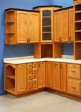 Cozinha interior projetada Imagem de Stock