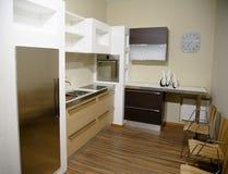 Cozinha interior4 Foto de Stock Royalty Free
