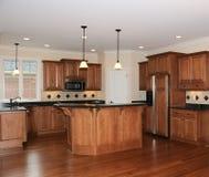 Cozinha luxuosa Imagem de Stock Royalty Free