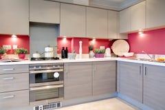 Cozinha luxuoso Foto de Stock Royalty Free