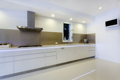 Cozinha luxuoso fotografia de stock