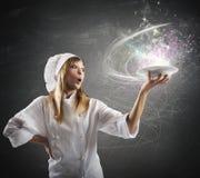 Cozinha mágica Fotografia de Stock