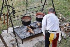 Cozinha medieval 3 Imagem de Stock