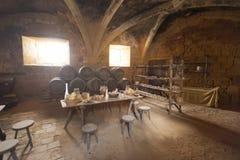 Cozinha medieval Fotografia de Stock