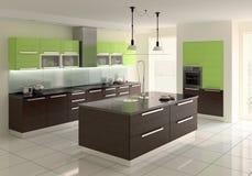 Cozinha moderna ilustração do vetor