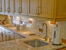Cozinha moderna 17 foto de stock