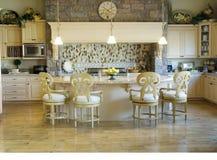 Cozinha moderna 2 foto de stock royalty free