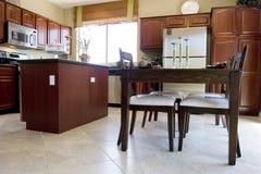 Cozinha moderna foto de stock royalty free