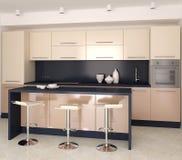 Cozinha moderna ilustração stock