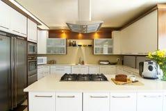 Cozinha moderna Foto de Stock