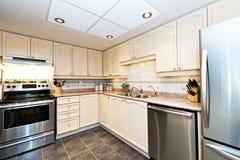Cozinha moderna com dispositivos Fotos de Stock