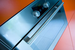 Cozinha moderna owen Fotos de Stock Royalty Free