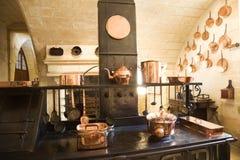 Cozinha muito velha imagens de stock