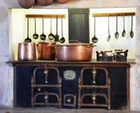 Cozinha no palácio nacional de Pena Imagem de Stock Royalty Free