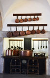 Cozinha no palácio nacional de Pena Fotos de Stock